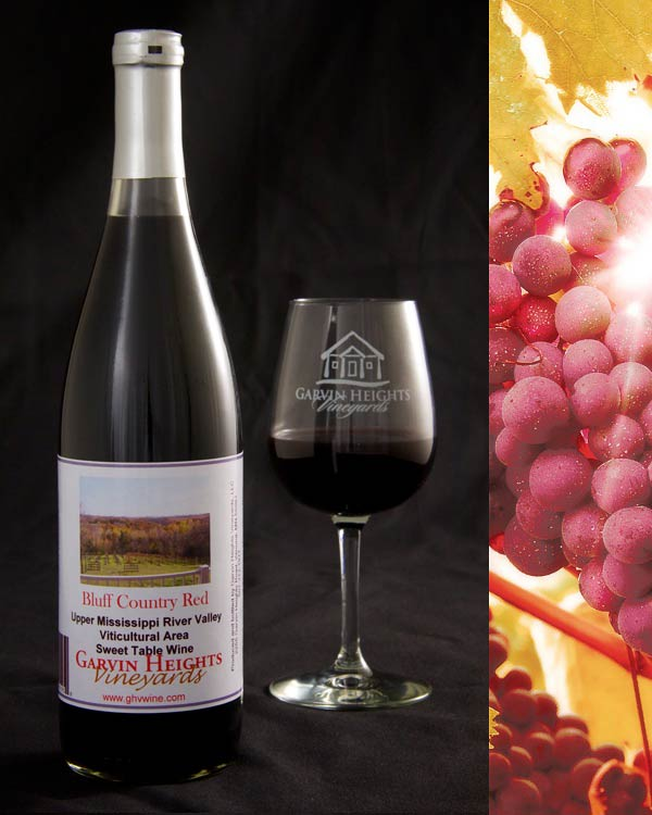 Bluff County Red Sweet Wine