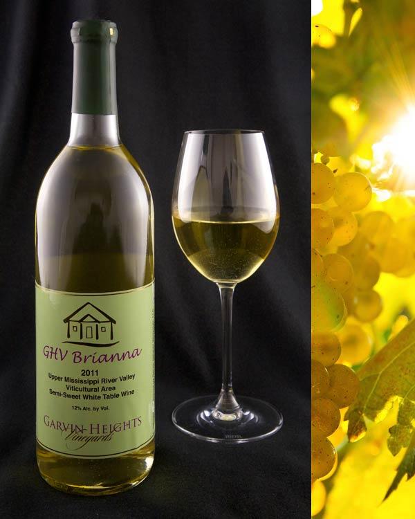 GHV Brianna Semi-Sweet White Wine
