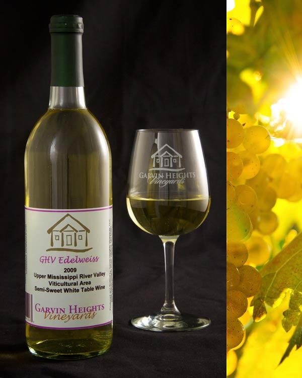 GHV Edelweiss Semi-Sweet White Wine