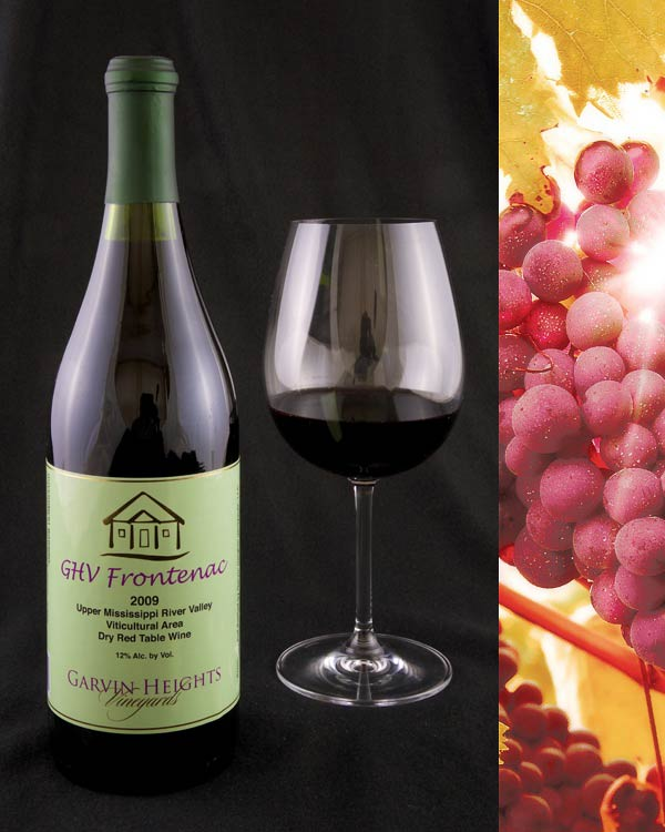 GHV Frontenac Dry Red Wine