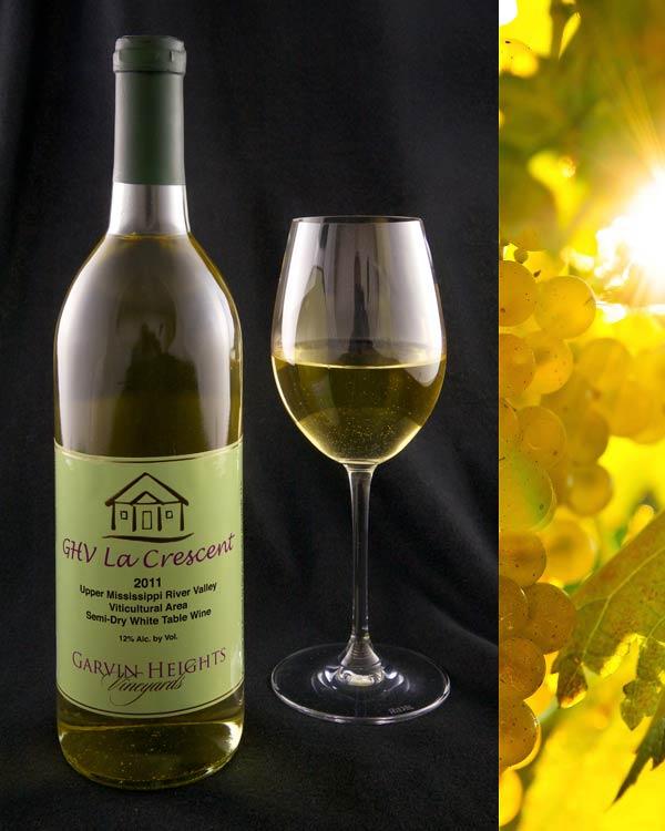 La Crescent Semi-Dry White Wine