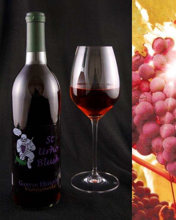 St. Urho Blush Wine